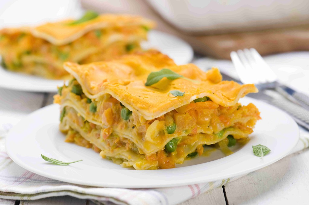 Dyniowa lasagne