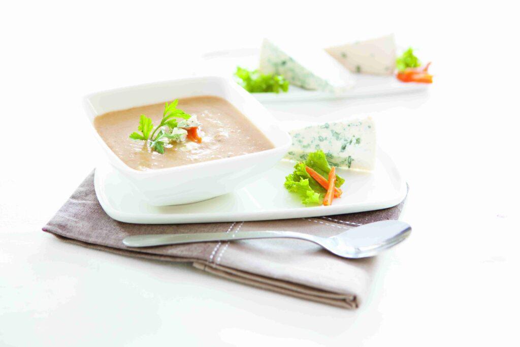 Francuska zupa pieczarkowa