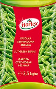 Cut green beans 2,5kg