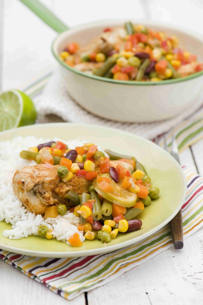 Mexican style chicken