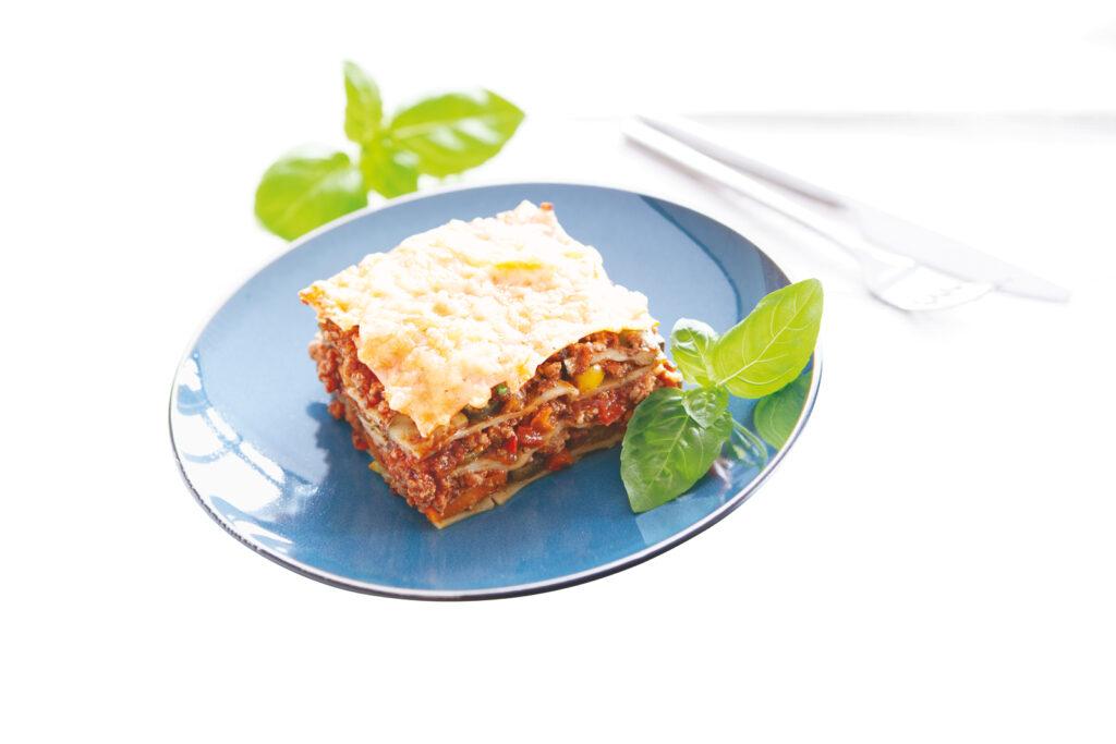 Lasagne z bazyliową nutą