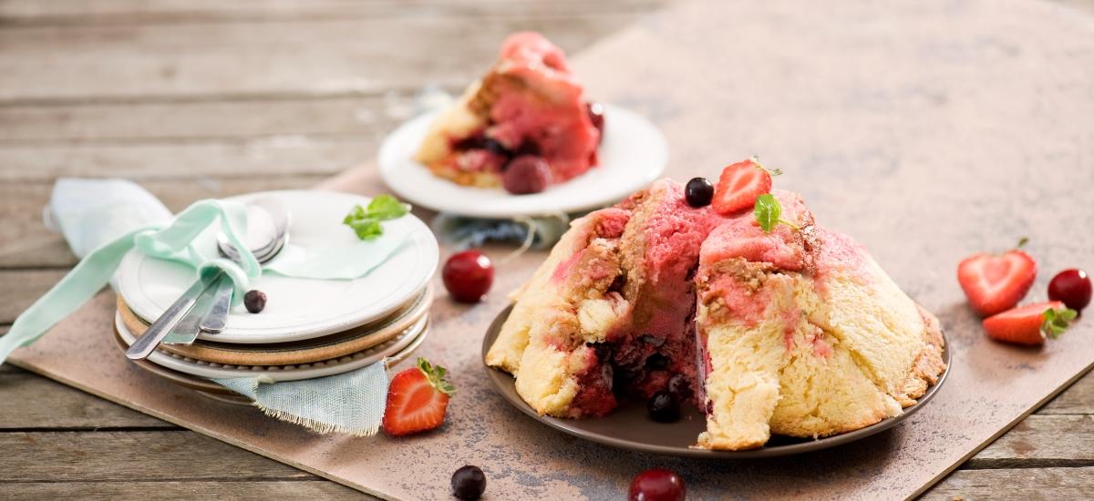Letni pudding zowocami