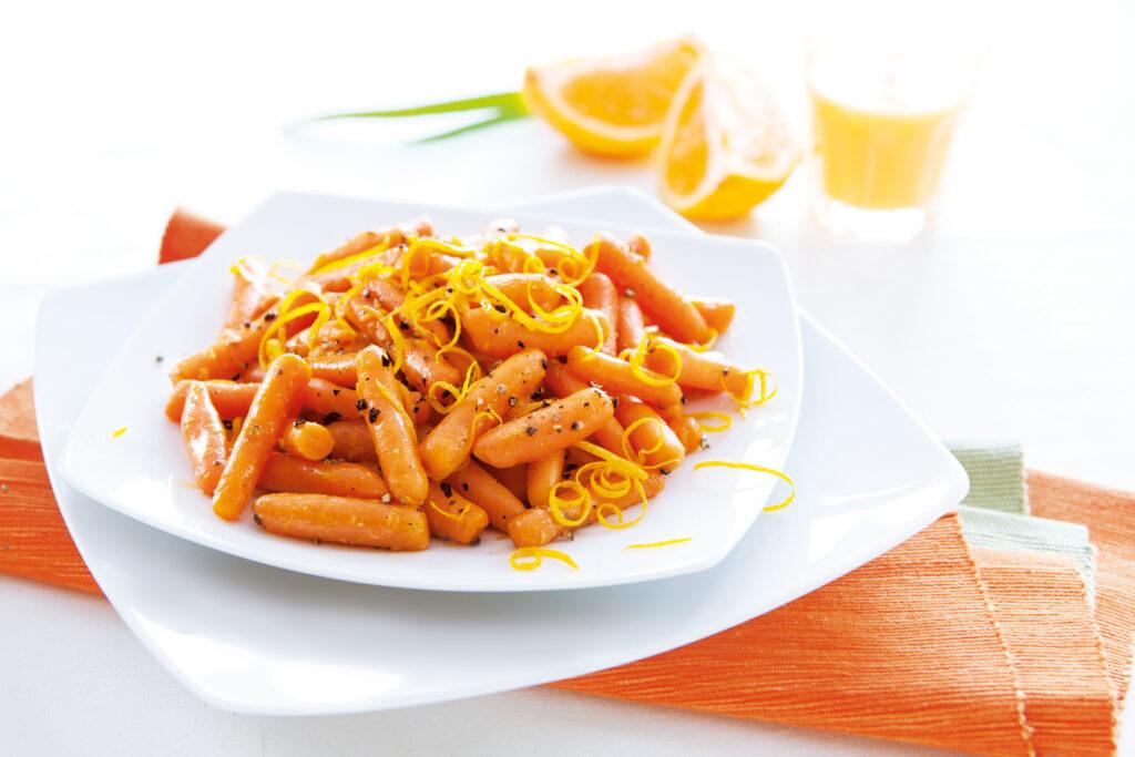Marchewka mini z pomarańczową nutą
