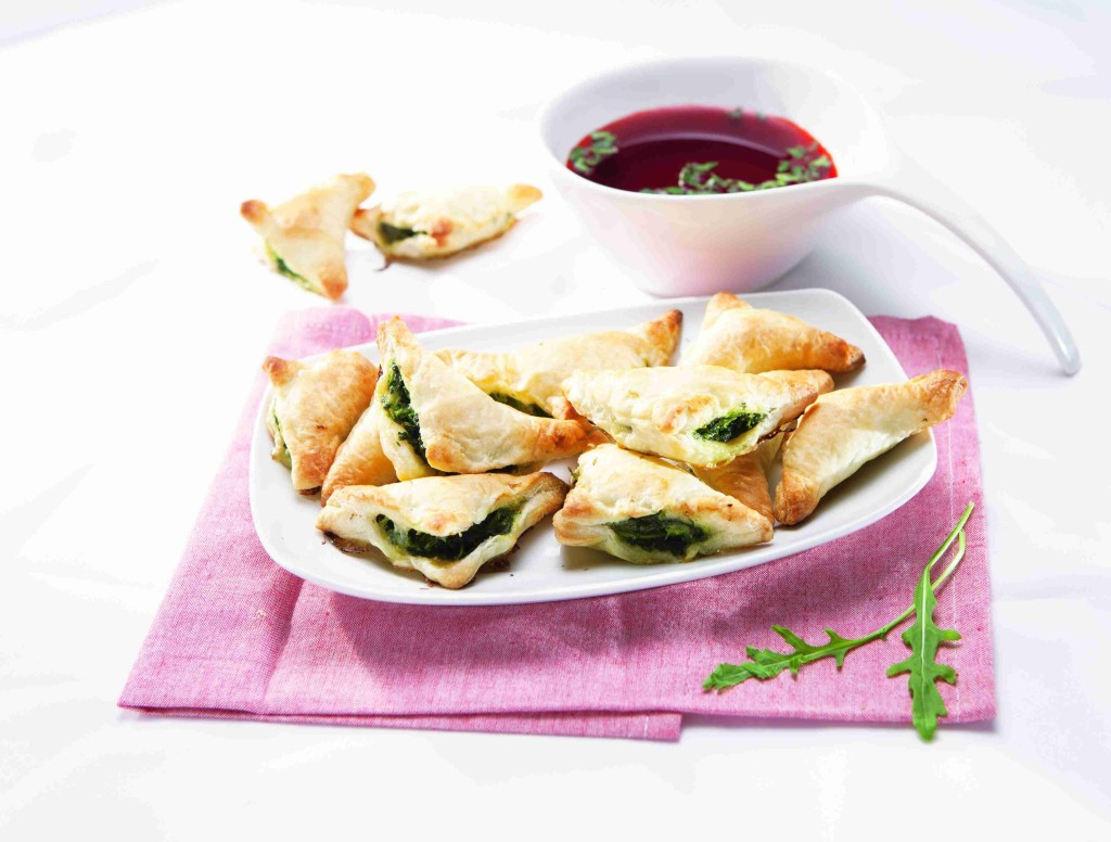 Spinach scones