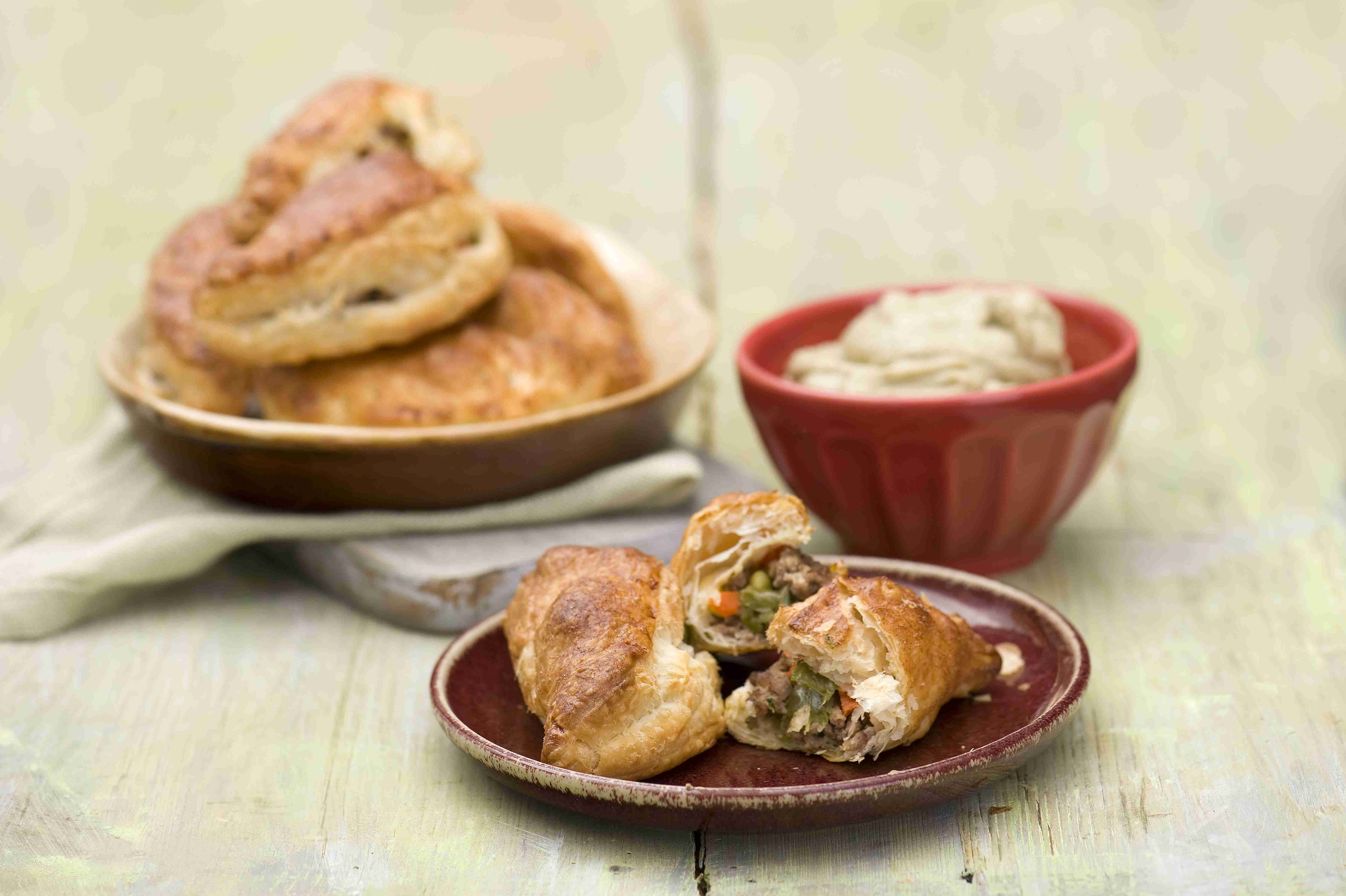 Szybkie empanadas zwołowiną iwarzywami