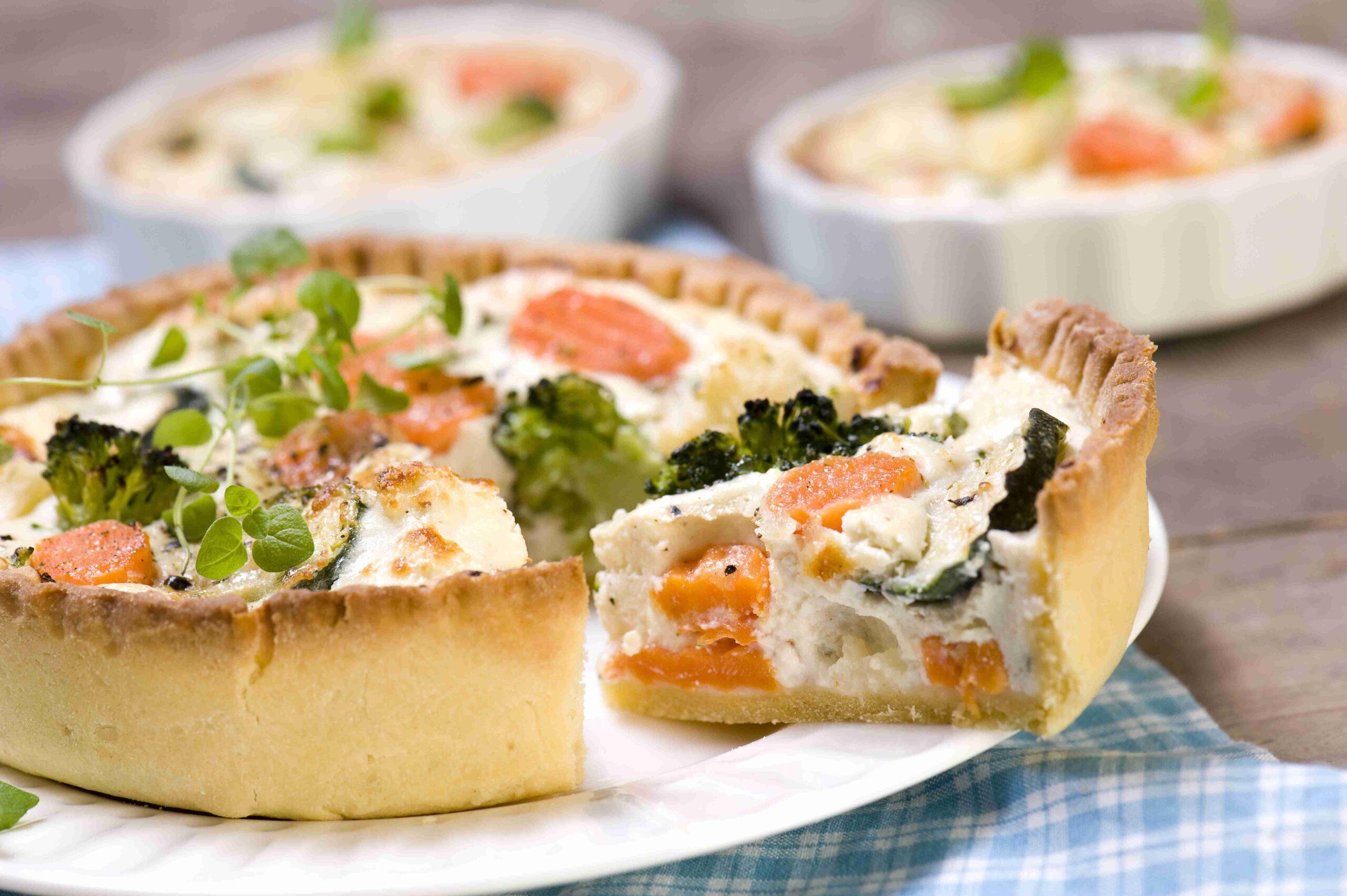 Tarta zricottą iwarzywami włoskimi