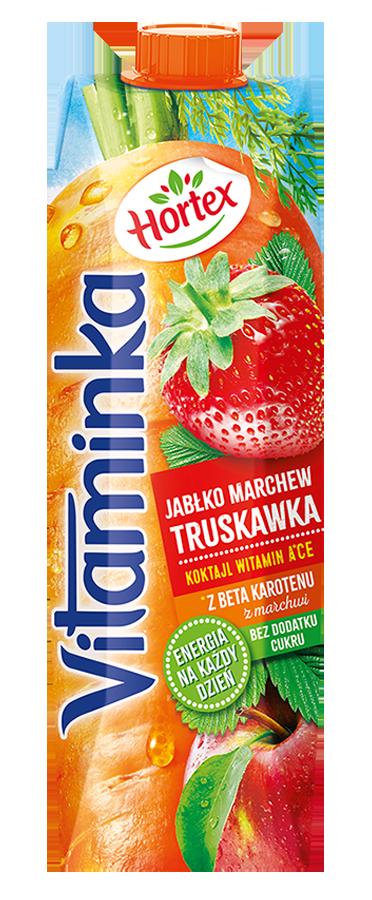 TRUSKAWKA MARCHEWKA JABŁKO 1L