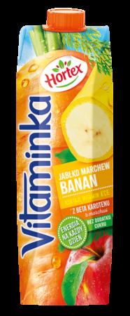 Vitaminka BananMarchewJablko karton 1L 1