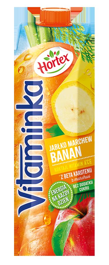 BANAN MARCHEWKA JABŁKO 1L