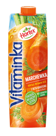 Vitaminka Marchew karton 1L 1 2