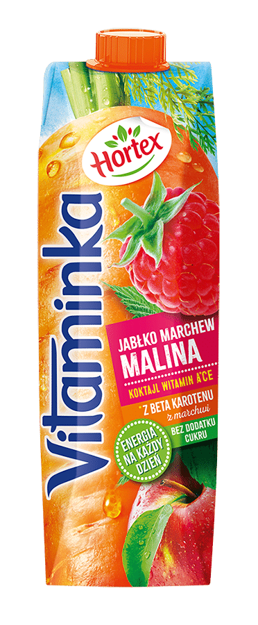 MALINA MARCHEWKA JABŁKO 1L