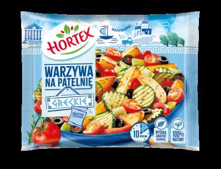 warzywa na patelnię greckie
