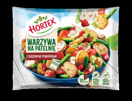 Warzywa na patelnię z suszonymi pomidorami