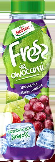 WINOGRONA JABŁKO LIMONKA 400ml