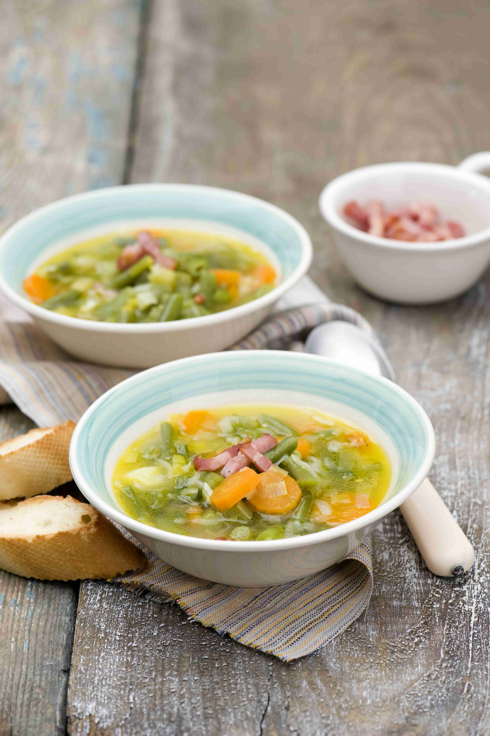 Zupa zzielonej fasolki