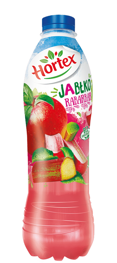 Apple-Rhubarb drink 1l Pet Bottle