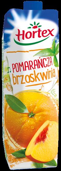 POMARAŃCZA BRZOSKWINIA 1L