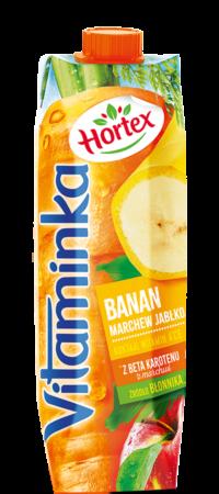 vitaminka banan 1l karton 1 1