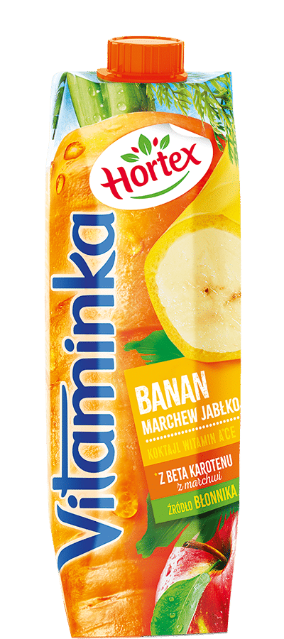 Banana, Carrot, Apple nectar carton 1l