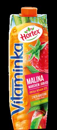 vitaminka malina 1l karton 1