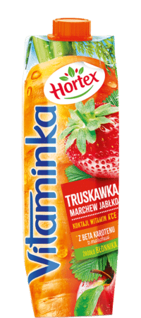 vitaminka truskawka 1l karton 1