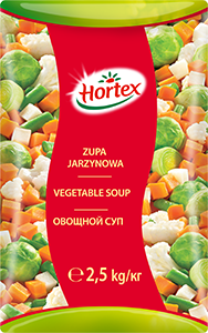 VEGETABLE SOUP 2,5kg
