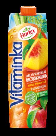Vitaminka MarchewkaJablkoBrzoskwinia karton 1L 1 1