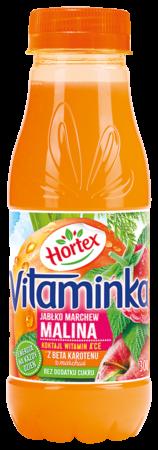 Vitaminka MarchewkaJablkoMalina butelka 300ml 1 1