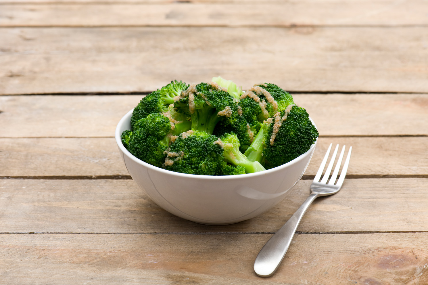 Brokuły zbułką tartą