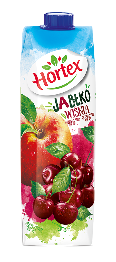 Apple-Cherry drink carton 1l