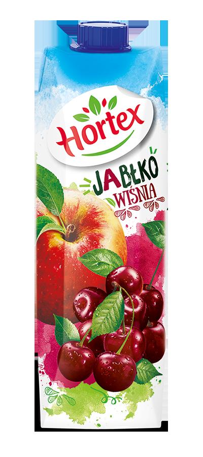Apple-Cherry drink carton 1l