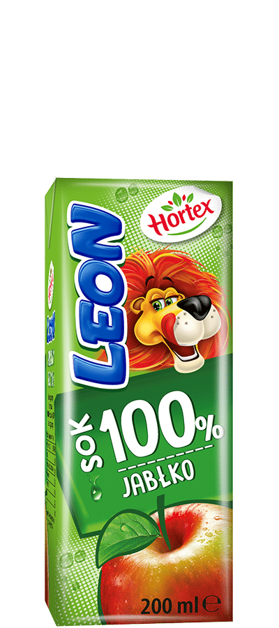 Apple 100% juice carton 200ml with straw