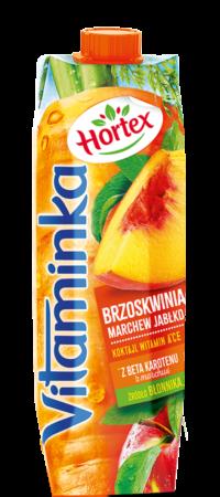 vitaminka brzoskwinia 1l karton 1