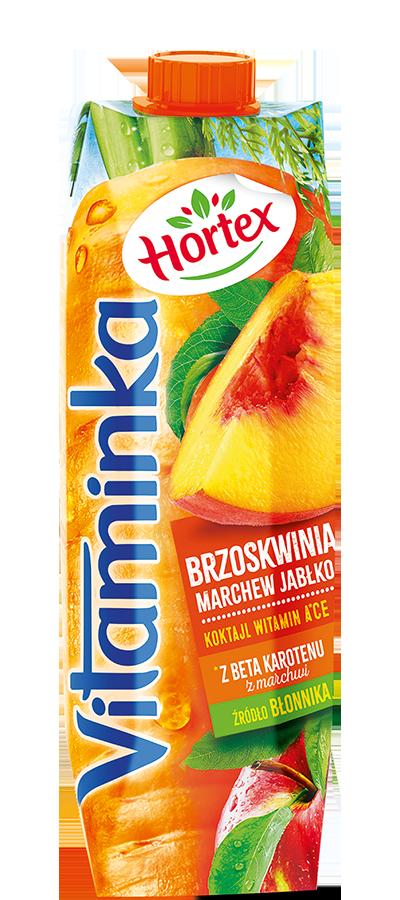 BRZOSKWINIA MARCHEWKA JABŁKO 1L