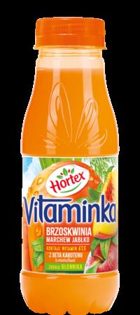 vitaminka brzoskwinia 300ml pet 1