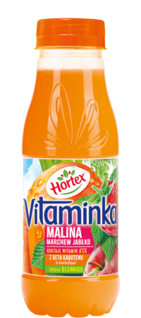 vitaminka malina 300ml pet 1