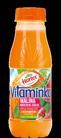 vitaminka malina 300ml pet 1