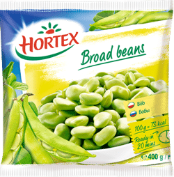 Broad beans 400g