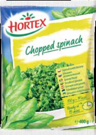 chopped spinach 400g 1