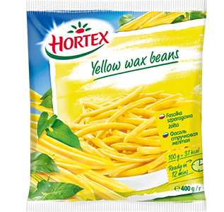 Yellow wax beans 400g