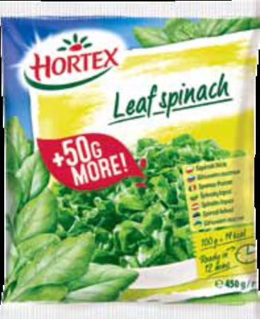 leaf spinach 450g 1