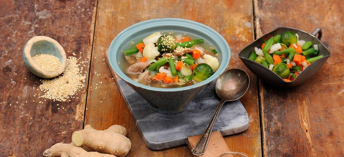 Imbirowa zupa rozgrzewająca