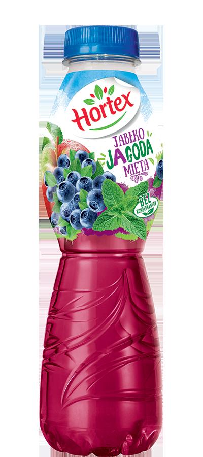 Apple-Blueberry-Mint drink 500ml Pet Bottle