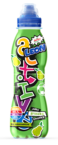 LEON ACTIVE APPLE PEAR AND LIME 400ML