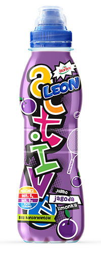 LEON ACTIVE APPLE BERRY AND LIME 400ML