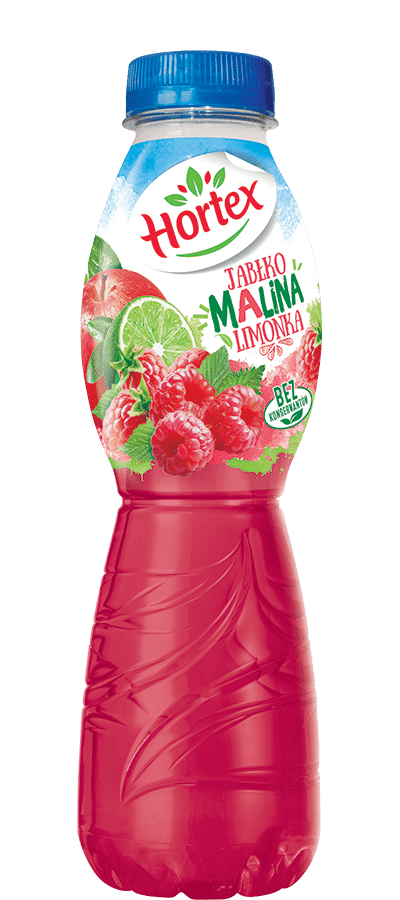 Apple-Raspberry drink 500ml Pet Bottle