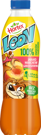 Leon 1L banan brzoskwinia 1