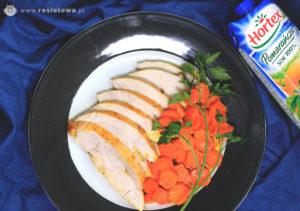 Pomarańczowy indyk z duszoną marchewką image1 2