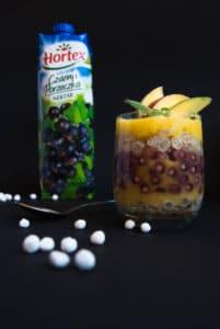 Porzeczkowy deser z tapioki z musem z mango image4 2