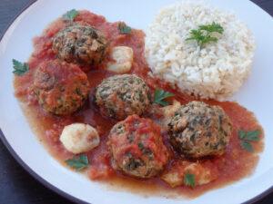 Pulpety zapiekane w sosie pomidorowym i mozzarellą image1 1